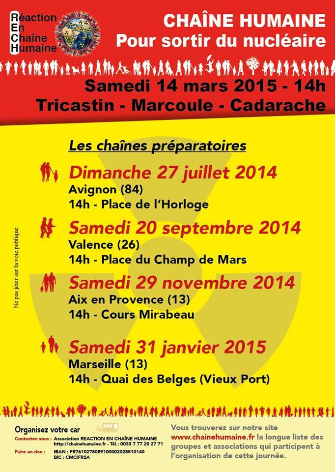 Stop Nukes Chau00EEnes Humaines 2014-15
