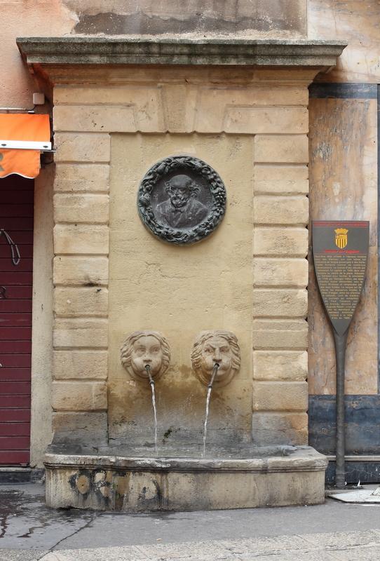 Fontaine des Chapeliers