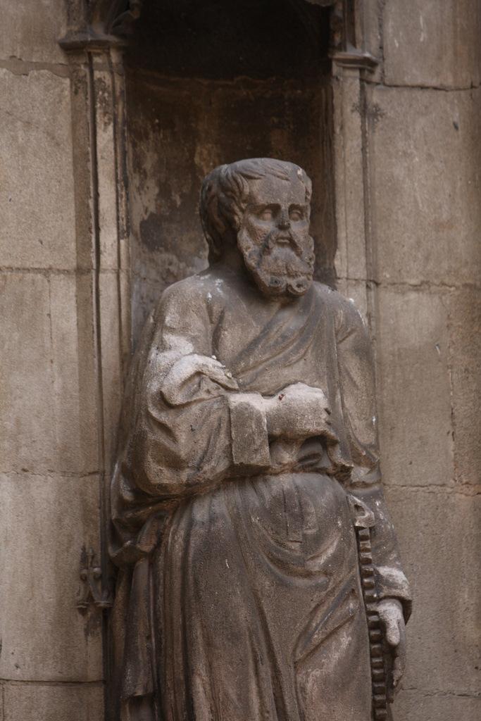 Détail de la Cathédrale Saint-Sauveur