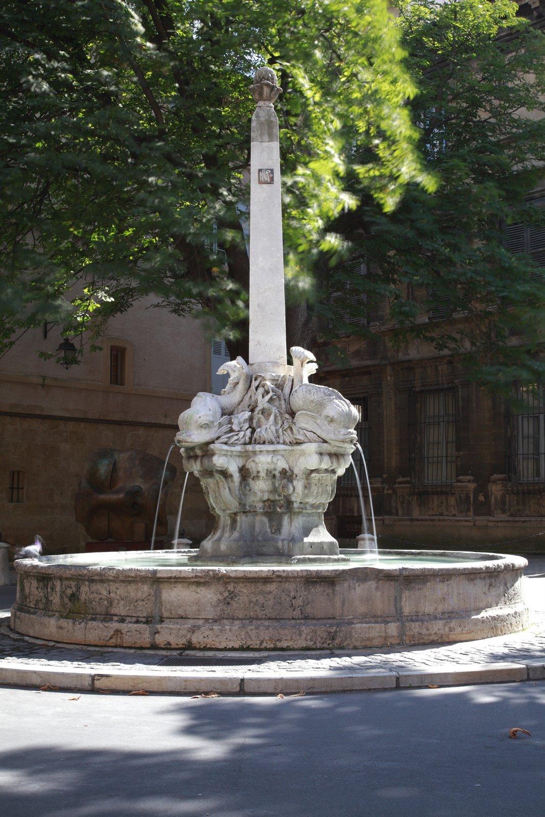 Fontaine des 4 Dauphins
