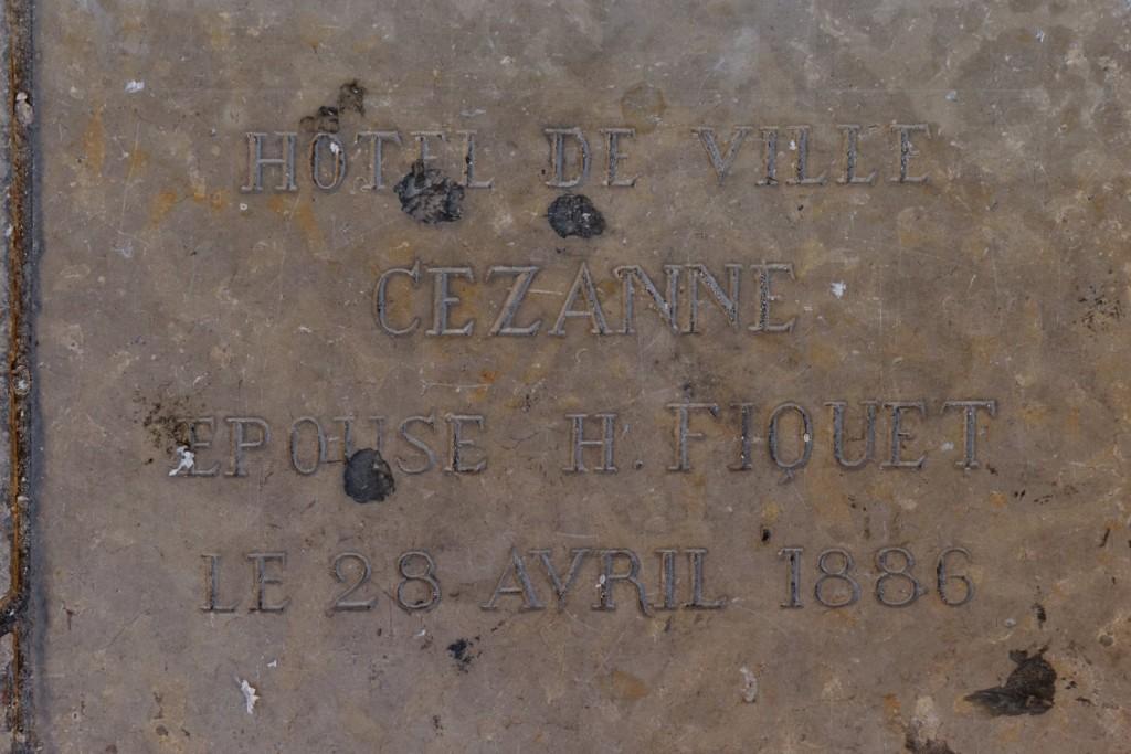 Mariage de Paul Cézanne
