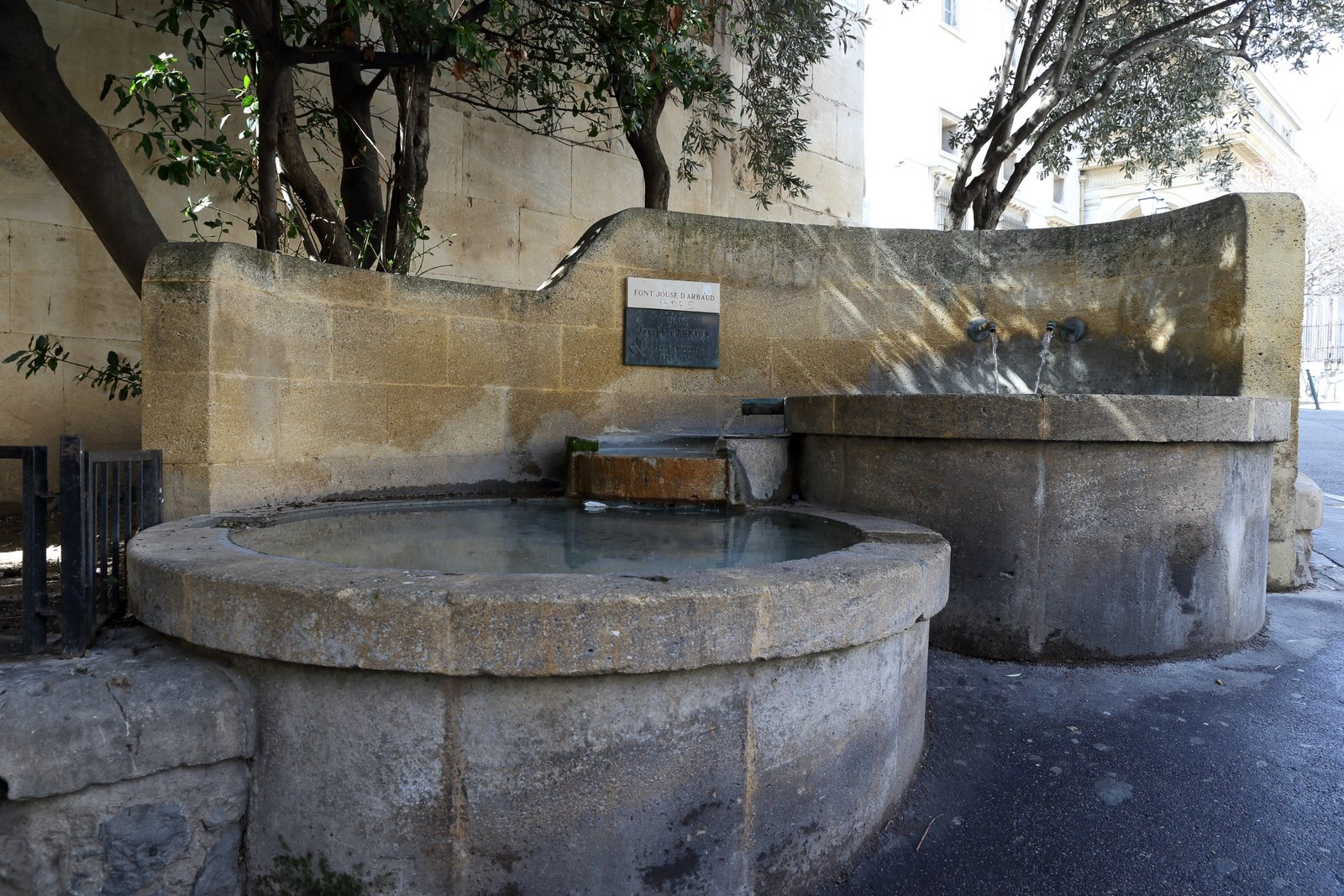Fontaine Jouse d'Arbaud