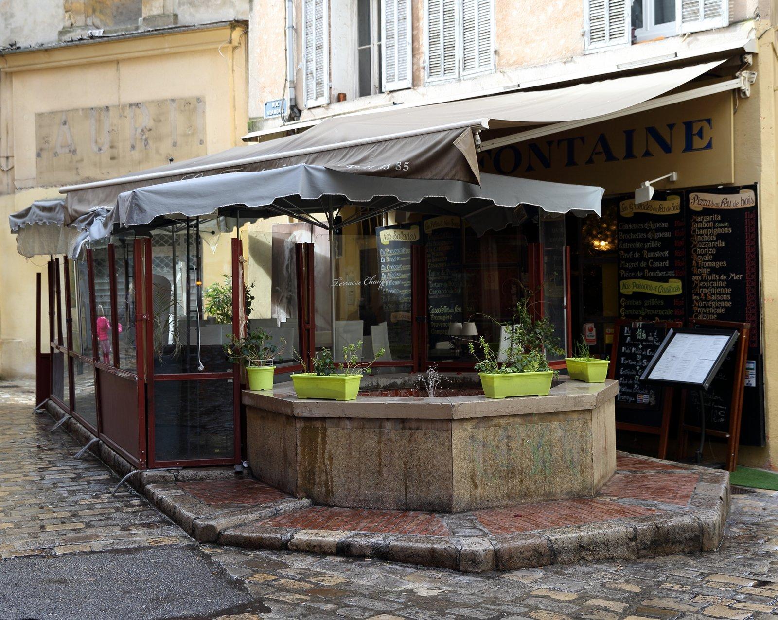 Fontaine rue de la Verrerie