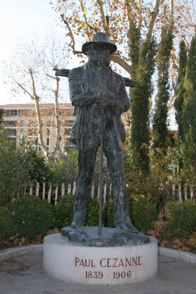 Statue de Cézanne