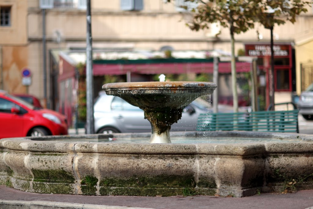 Fontaine place Miollis