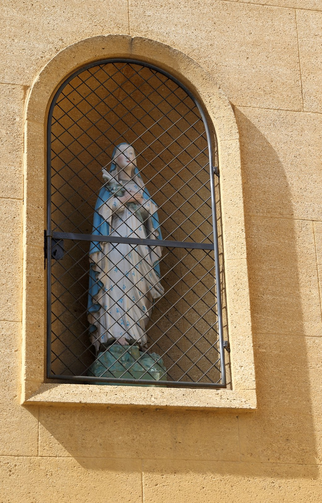 Oratoire Vierge au sceptre fleuri